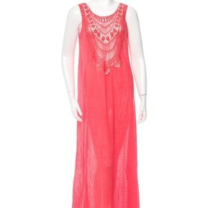 Miguelina sleeveless maxi dress- xs